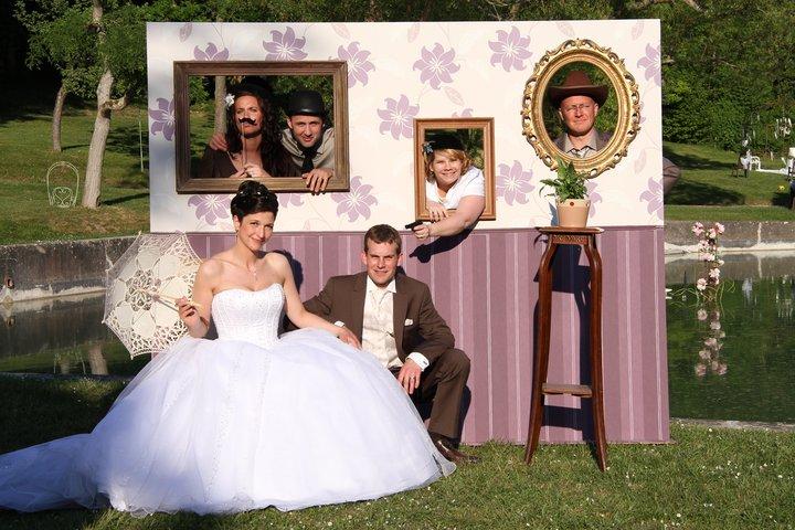 Location d'un photomaton pour son mariage